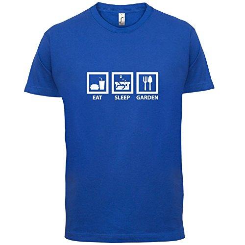 Eat Sleep Garden - Herren T-Shirt - 13 Farben Royalblau