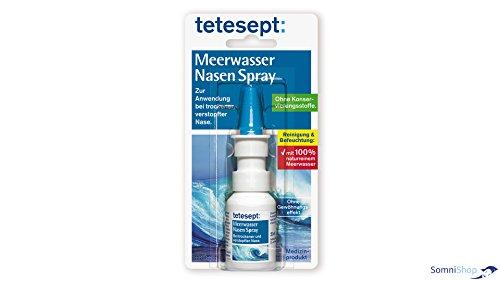 Tetesept Meerwasser Nasenspray (SomniShop Set)