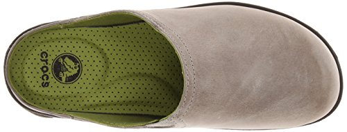 Crocs Cobbler 2.0 Leather Clog Taupe/Mahogany