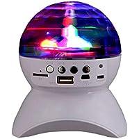 Mini Altavoz Bluetooth Inalámbrico Multifunción LED Iluminación Colorida Etapa Sonido Radio Portátil Al Aire Libre Square Dance Subwoofer WUHX