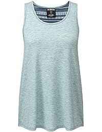 142b238c30d Sherpa Asha - Haut sans Manches Femme - Vert 2019 Tank Tshirt