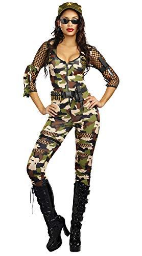 Soldat Kostüm Uniform - SAMGU Frauen Sexy Tarnung Soldat Militär Kostüm Kommando Anzug Cosplay Uniform