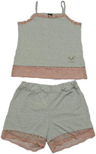 Versace 19.69 - Pyjama 27-9148V für frau, ärmelloses Tortora