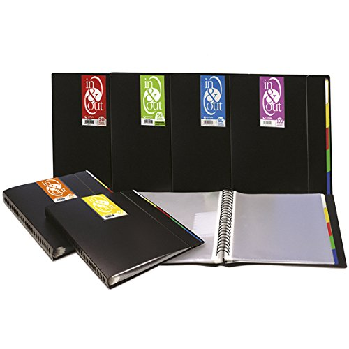 Grafoplas 39409010 - Carpeta, 100 fundas extraíbles, sistema in & out, A4