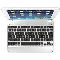 Clavier Bluetooth Brydge 9.7 AZERTY pour le nouvel Apple iPad 9.7, Pro 9.7, Air 1 et 2 (Argent)
