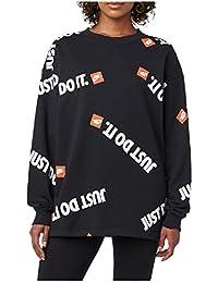 timeless design ca40f 9d89c Nike Women s Sportswear Sweater Bkack AV4988-010