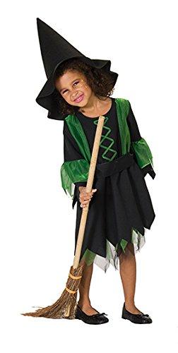 Hexe Kostüm Besen Zubehör - Hexenbesen Hexe Besen Hexen Feger Auskehrer Zauberbesen Holz Halloween 100cm Zubehör Fasching Kostüm Karneval 1m