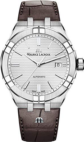 Maurice Lacroix Aikon Orologio automatico argento/marrone