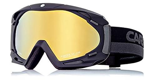 Carrera Herren Skibrille Kimerik Reload, Schwarz/Matt/Rosa/Photoc, M003859BD995H