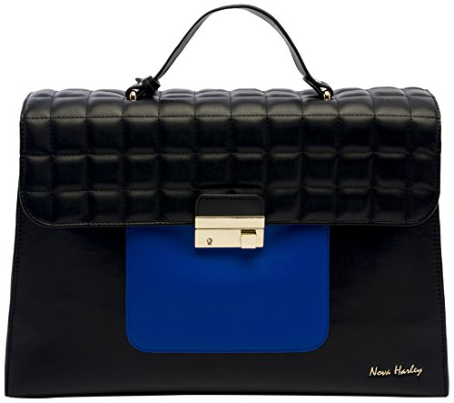 Nova Harley NHLATHBB1 Luxury Wickeltasche Athens (Diaper Gucci Baby Bag)