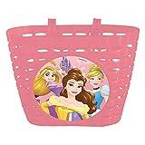 Disney Princess, Cestino in Plastica Bambina, Rosa, Universale