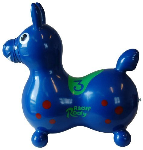 Gymnic / Racin' Rody Inflatable Hopping Horse, Blue by Ledraplastic SpA [Toy]