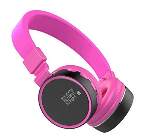 Kopfhörer mit Rauschunterdrückung Bluetooth ANC Wireless Over Ear-Kopfhörer, HiFi-Sound Deep Bass,für die Reise TV PC-Handy, D - At&t Handys Für $50 Der Unter