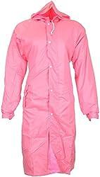 Zacharias Stylish Girls Raincoat Pink Color