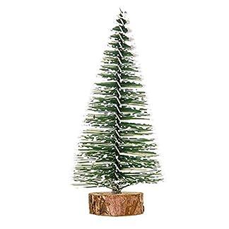 WUFANGFF Mini Árbol De Navidad El Año Ornamento del Árbol De Navidad Decoración De Navidad para El Hogar