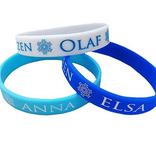 on-ArmbŠnder Inklusive Snow Queen Elsa, Prinzessin Anna und Olaf ~ neue Junior-Grš§e (Kleider Elsa Eingefroren)
