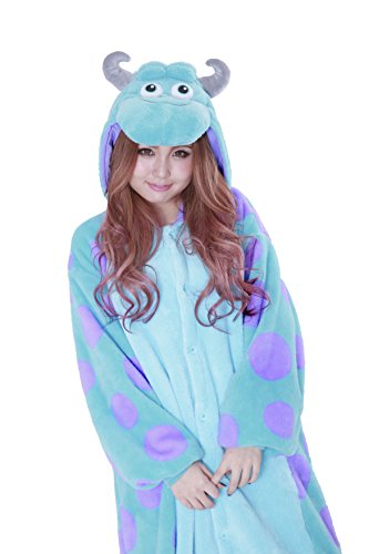 Sulley Pajama Fancy dress costume (Sulley Kostüme Erwachsene)