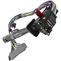 Duokon Interruptor del tallo de la columna de la dirección del coche Interruptor del limpiaparabrisas Indicador