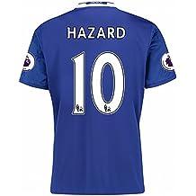 Chelsea FC 2016 2017 10 Eden Hazard casa fútbol Jersey en Azul 243447a459f43