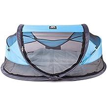 Deryan Travel-cot Baby Luxe Reisebettzelt inklusive Schlafmatte, selbstaufblasbarer Luftmatratze und Tragetasche mit Pop-Up innerhalb 2 Sekunden aufgebaut