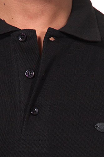 FIOCEO Poloshirt slim fit Schwarz