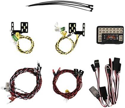 B Blesiya Kit de Lumiere LED Lampe Lampe Lampe Avant / Arrière pour 1/10 Crawler Ford Traxxas TRX4 | Dans Plusieurs Styles  3dd73d