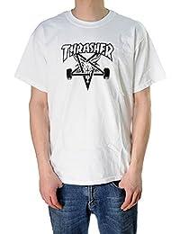 Thrasher skategoat White–Camiseta