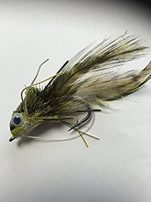 Swimming Frog Fishing Lure Fly for PIKE BASS TROUT - GREEN PACK #168 by BestCity