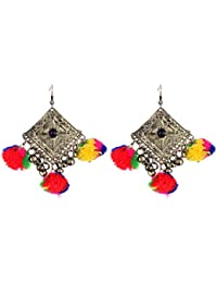 Watch Me Ethnic Traditional Jhumka Jhumki Party Wear Hangings For Women And Girls Set Combo Jewellery For Womens...