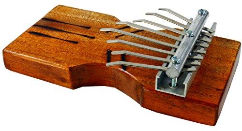 Guru-Shop Kalimba,Tisch Klangspiel aus Holz, 5x17x9 cm, Musikinstrumente