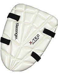 Slazenger X-Tec críquet deporte jugadores inferior del cuerpo protección muslo Guardia Pad, color multicolor, tamaño joven