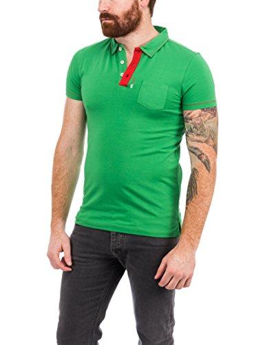 S.HT Herren Poloshirt Gringo Verde (Grass)
