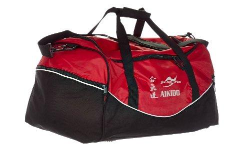 Tasche Team rot/schwarz Aikido