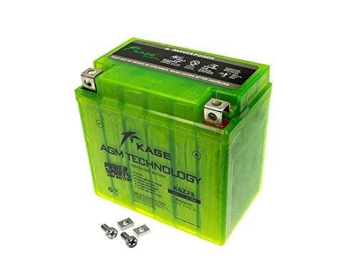 GEL Batterie KAGE Green YTX5L-BS YTZ7S 6,5AH für Adly/Herchee AJP Aprilia Baotian Barossa/SMC Beta Buffalo/Quelle CPI Derbi Ecobike Ering E-Ton Gas Gas Generic HM-Moto Husaberg Husqvarna