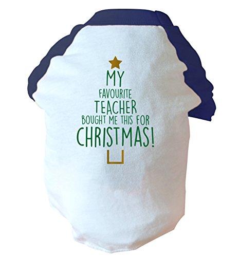 My Favourite Teacher acquistato questo per Natale. Due Toned Cane Gilet rosa o blu Blue Large