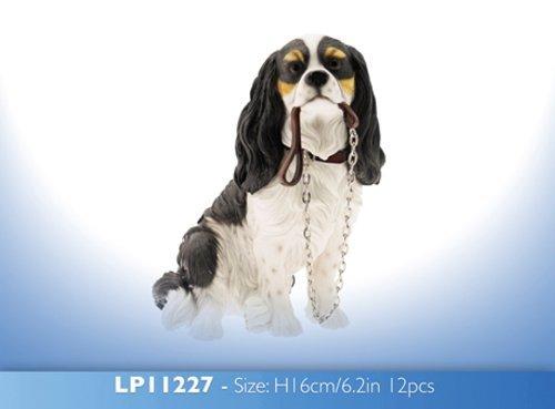 Lesser & Pavey Walkies Cavalier King Charles Spaniel, sitzend, 15 cm hoch -