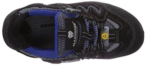 Maxguard - BLUE-PEAC P390, Calzature Di Sicurezza, unisex Multicolore (blau/schwarz)