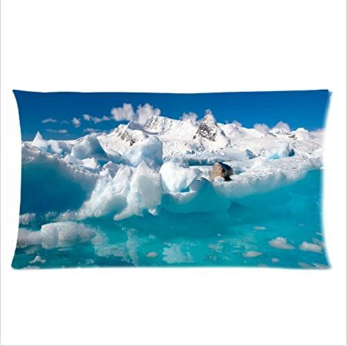 beautiful-natural-landscapethe-blue-ice-of-antarctica-pillowcasetwo-side-pillowcase-pillow-cover-20x