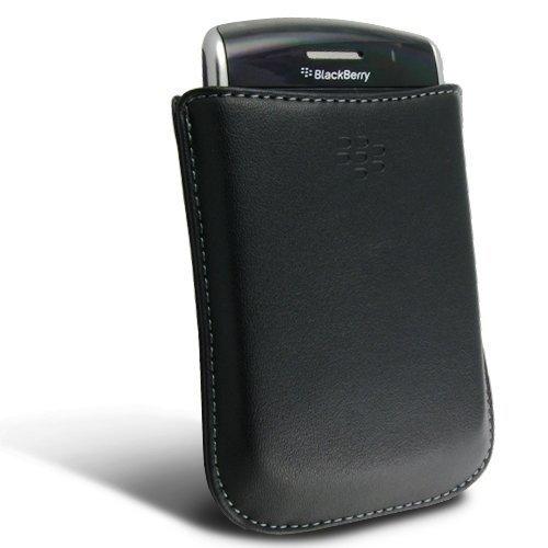 Original OEM Lammfell Leder Tasche Case Lederetui HDW - 19815-001 für RIM Blackberry 9530/9500, Storm-Design (001 Original Oem Blackberry)