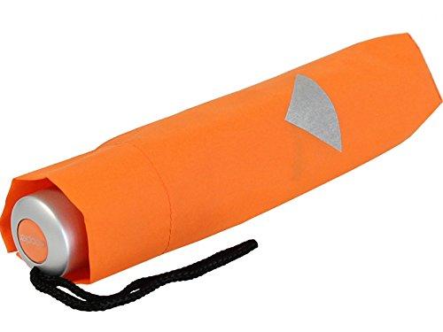 Doppler Kinderschirm Taschenschirm Kids Mini Reflex - orange