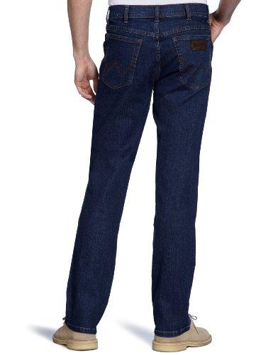 Wrangler Herren Jeans Texas Stretch Mid Stone Blau - Darkstone