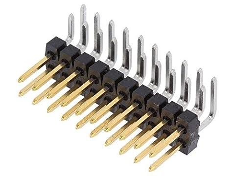 MX-90122-0770 Pin header pin strips male PIN20 2.54mm THT C-Grid