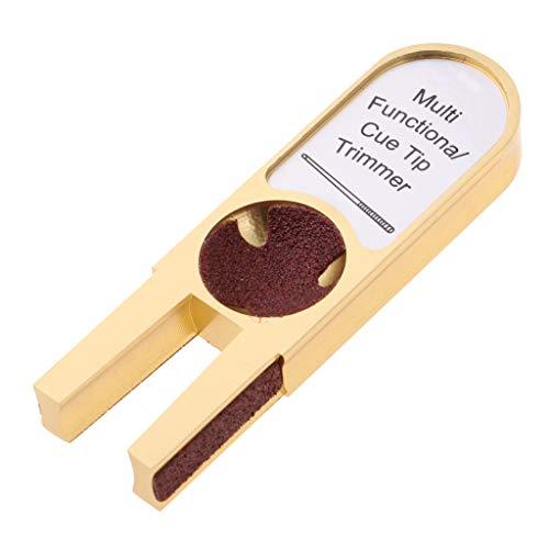 Baoblaze U-Form-Billard-Quecksandgerät-Queue-Stick-Scuffer-Top-Reparatursatz -