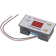 DC12-120V 20A Regulador de batería de carga bajo voltaje controlador de corte automático interruptor