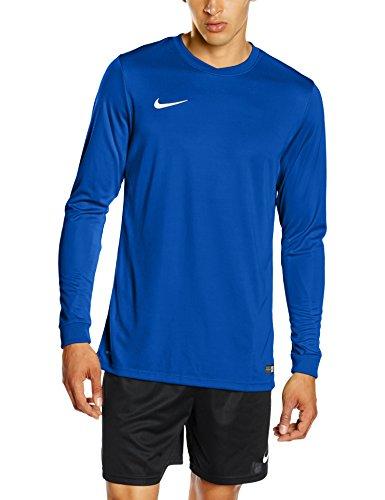 NIKE Herren Langarm Trikot Park VI, 725884-463,blau (Royal Blue/White), Gr. M - Nike Blaues T-shirt