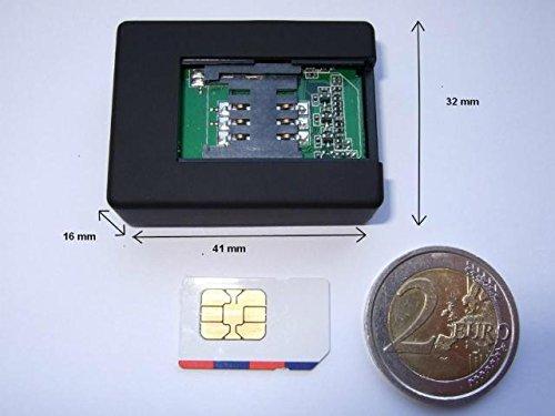 Microspia Gsm per l'ascolto ambientale con funzione di richiamata automatica Recall. Cimice Audio Spy per uso professionale e domestico.