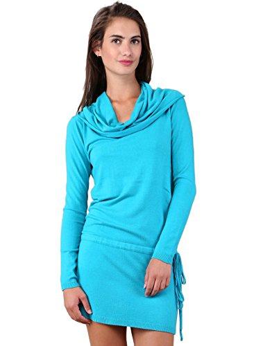 Miss Coquines - Robe pull col roulé - Robes - tu - bleu