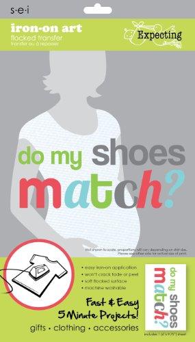 Unbekannt Sei 5-1/2Zoll von 9-1/4-Zoll-DO My Shoes Match Eisen auf Übertragung, 1Bogen -