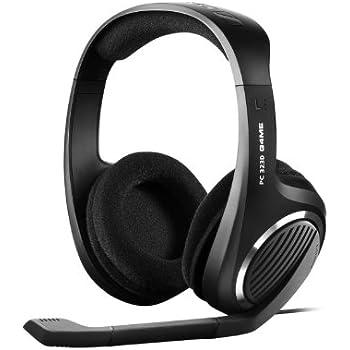 Sennheiser PC 323D Gaming Headset mit 7,1 Kanal (3,5mm Klinkenstecker, USB 2.0) schwarz