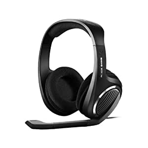 sennheiser over ear open back gaming stereo headset with 7 1 channel surround sound mic and. Black Bedroom Furniture Sets. Home Design Ideas
